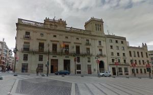 Façana de l'Ajuntament d'Alcoi