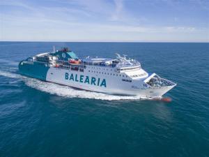 Imatge d'arxiu d'una embarcació de Baleària