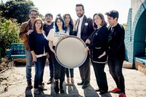 Imatge dels actors i actrius de la sèrie 'Diumenge, paella' d'À Punt