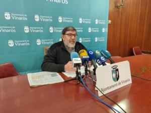 L'alcalde de Vinaròs, Enric Pla, anuncia la cessió dels terrenys