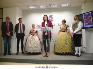 Presentació del programa d'actes de les Falles de Gandia