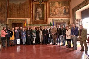 Signatura de l'agermanament entre les ciutats de Gandia i Fano