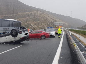Accident entre diversos vehicles