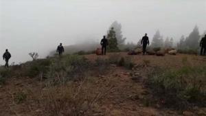 Agents buscant els cossos