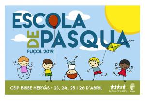 Cartell de l'Escola de Pasqua de Puçol