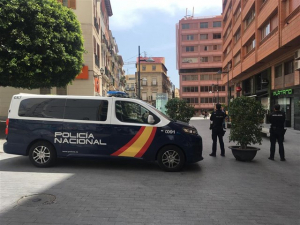 Imatge de la detenció Policial a Alacant