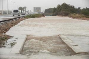 Imatge de les inundacions que ha patit Torrevieja