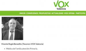 Imatge del candidat Vicente Roglá
