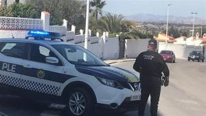 Imatge d'un agent de la Policia Local d'Elx