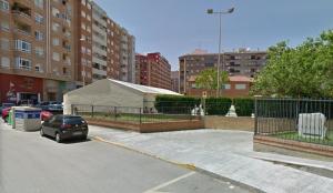 Carrer de Castelló on va ser la caiguda.