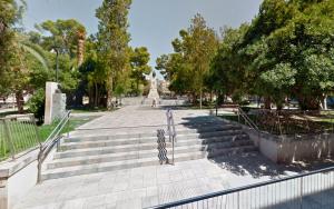 Imatge de la plaça Castelar d'Elda