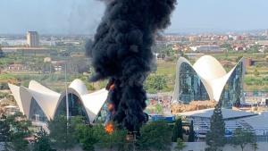 Incendi en la Ciutat de les Arts 1