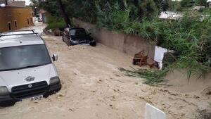 El poble d'Almoradí afectat per la DANA