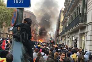Caos en Barcelona