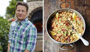 Jamie Oliver i la seua paella amb xoriço