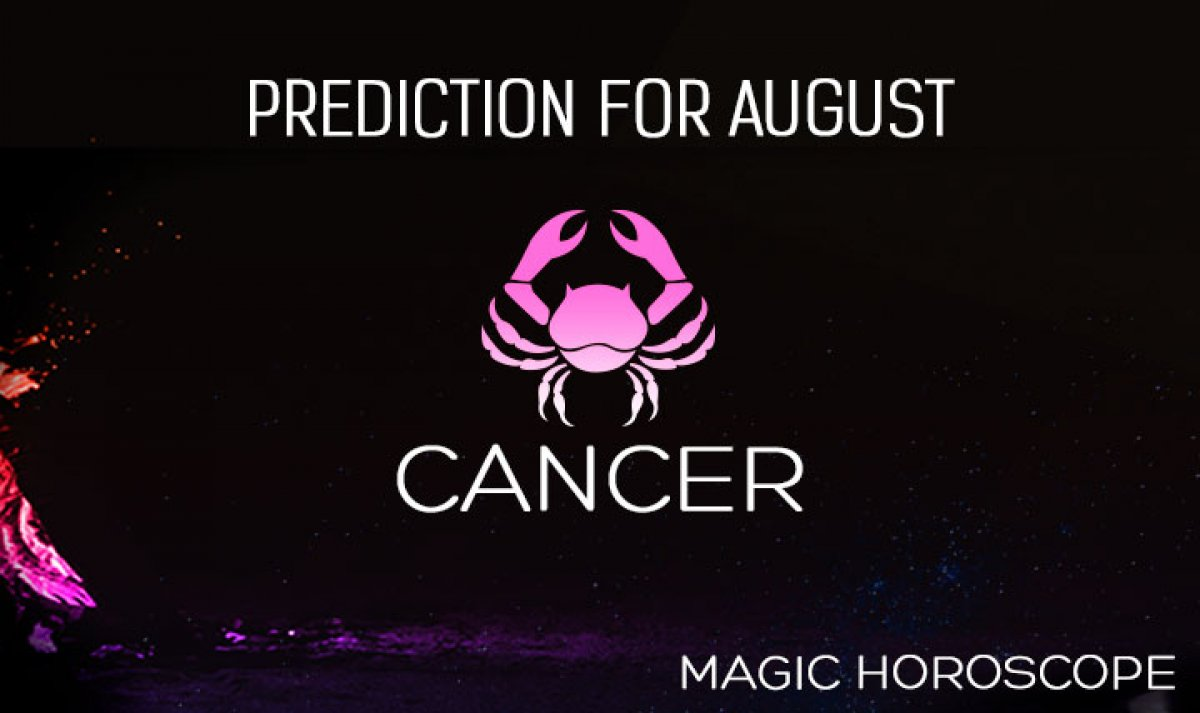 Cancer Monthly Horoscope for August
