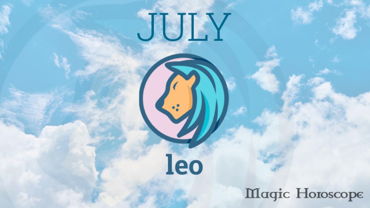 Leo Monthly Horoscope for July