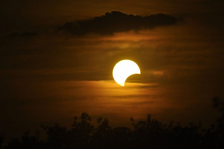 January 6 2019 First Partial Solar Eclipse Of The Year