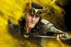 Loki as a Marvel character, portrayed by Tom Hiddleston