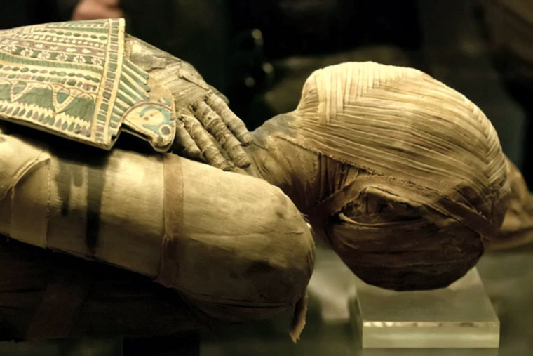 Ancient Egyptian mummies are a remnant of the beliefs of the Great Beyond