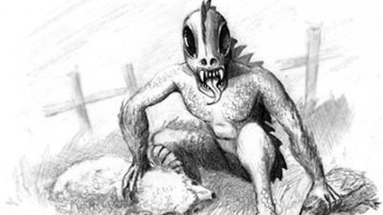 El chupacabras(the goat-sucker)