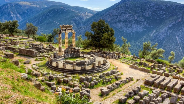 Pythia, temple of Apollo