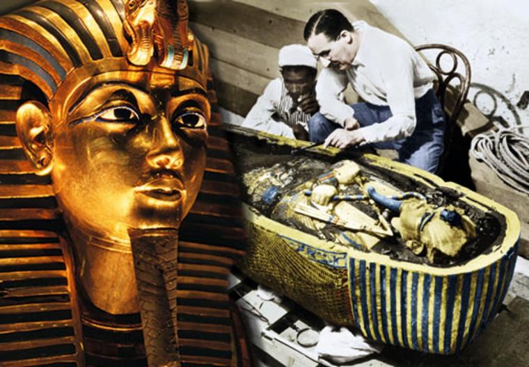 tutankamon mummy