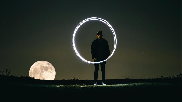 supermoon super worm moon