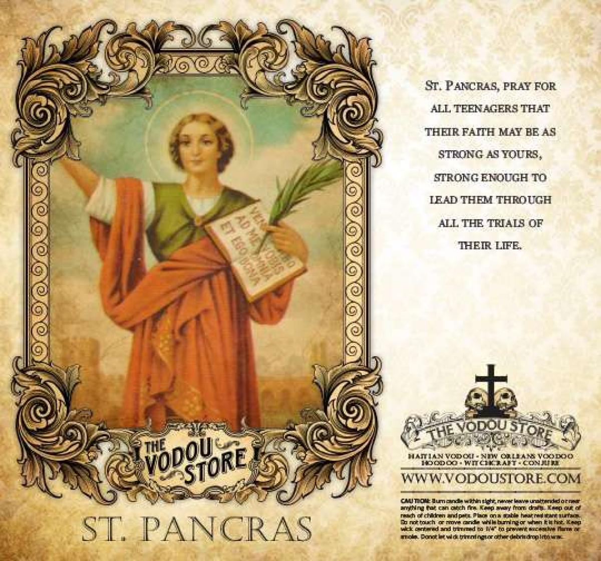Prayers to Saint Pancras: Work, Money & Parsley