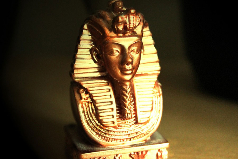 The curse of the pharaohs began with the discovery of King Tut's tomb.