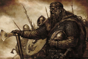 112 female and male Viking names of warriors and Nordic gods and their meaning