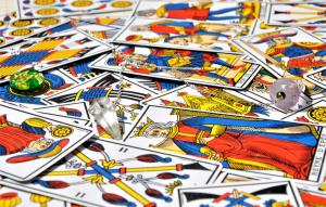 Temperance is the fourteenth Major Arcana Tarot card.