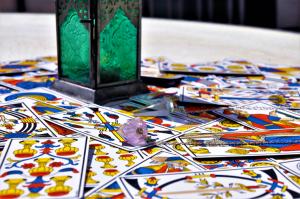The Devil is the fifteenth Major Arcana Tarot card.