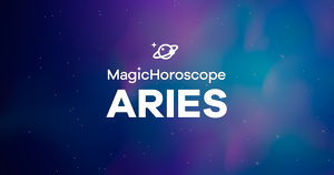 Aries horoscope prediction according to the stars.