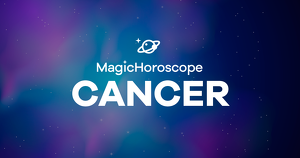 Cancer horoscope prediction according to the stars.