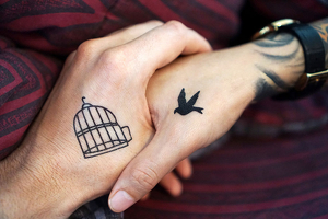 Meaningful tattoos for couples.