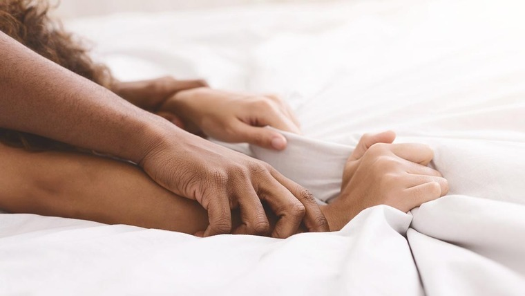 Two people having sex