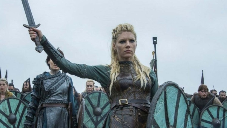 Scene from the Vikings.