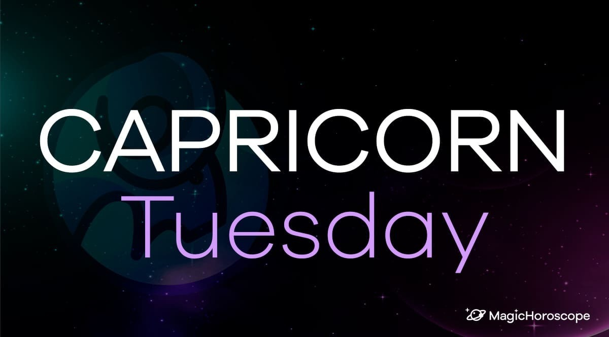 Capricorn Horoscope Tuesday