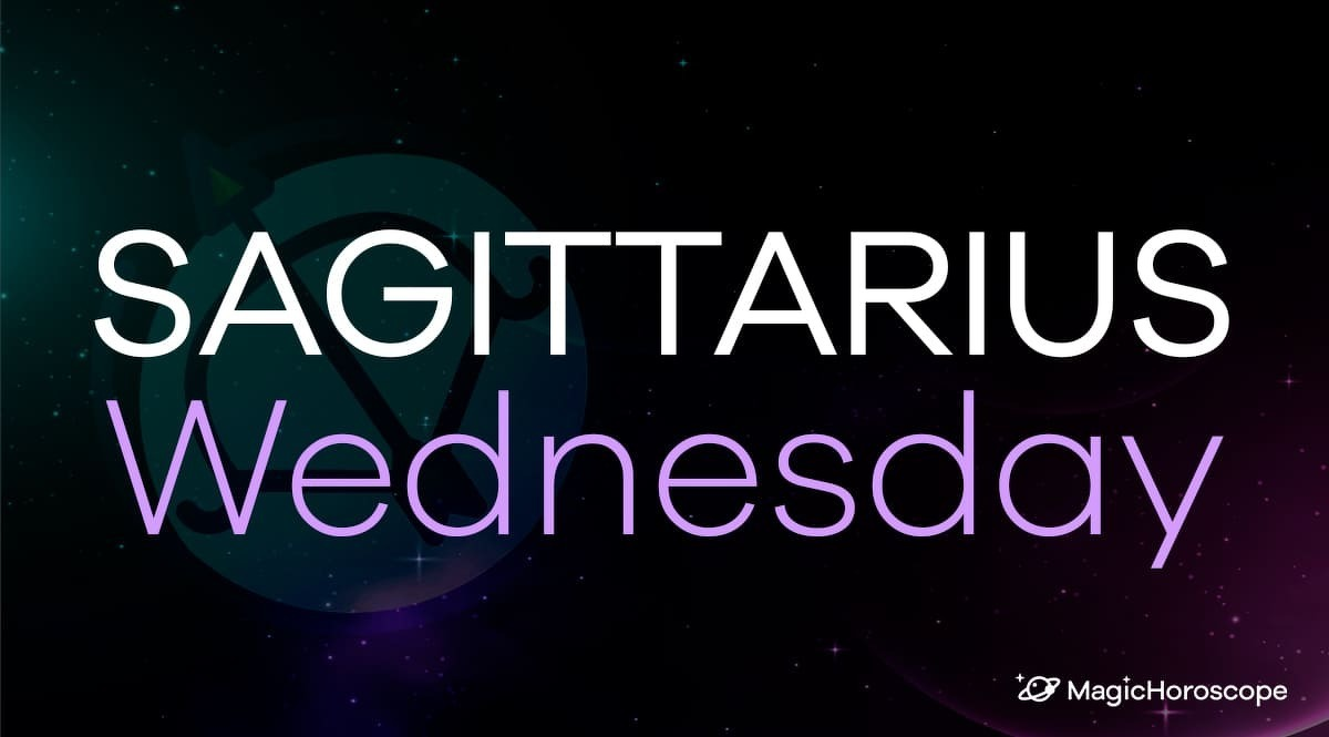 Sagittarius Horoscope Wednesday
