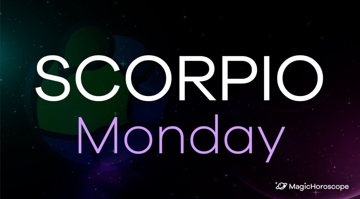 Scorpio Horoscope Monday