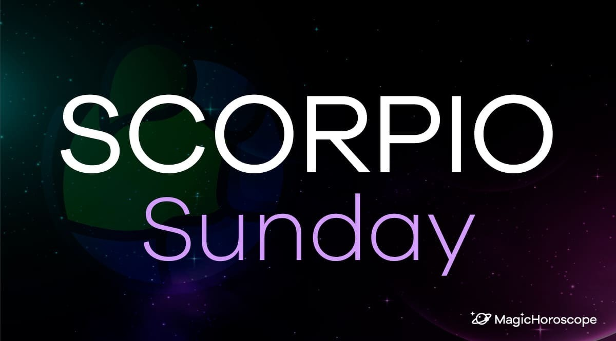 Scorpio Horoscope Sunday