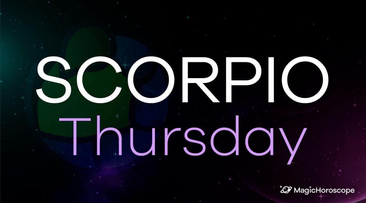 Scorpio Horoscope Thursday