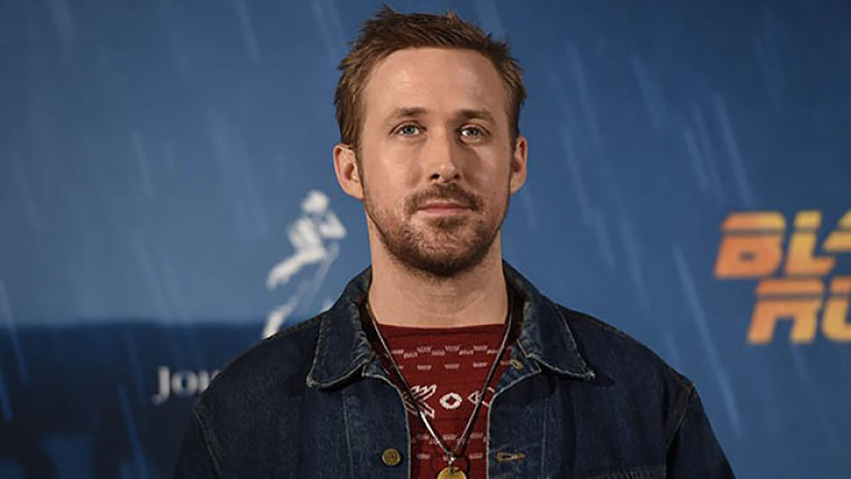 Ryan Gosling at a photocall
