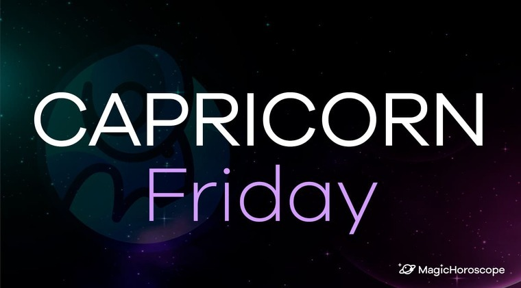 Capricorn Horoscope Friday