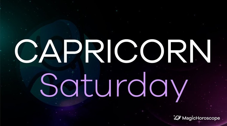 Capricorn Horoscope Saturday
