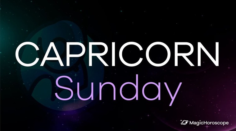 Capricorn Horoscope Sunday