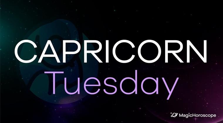 Capricorn Horoscope Tuesday