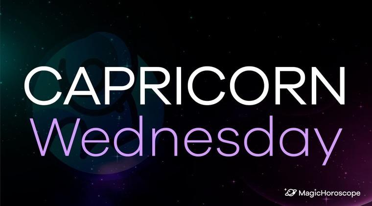 Capricorn Horoscope Wednesday