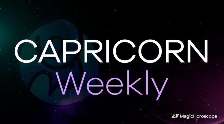 Capricorn Horoscope Weekly